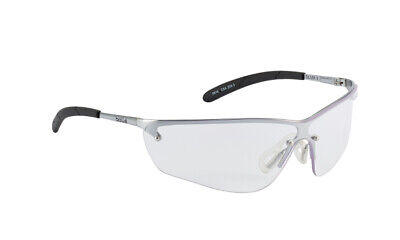 Bolle Silium II Safety Glasses Spectacles - Clear Lens - Anti Mist - SILPSI