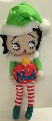 2011 Sugar Loaf Betty Boop Merry Messages Plush / Stuffed Noel Doll