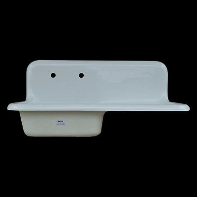 Reproduction Single Bowl Farmhouse Drainboard Sink - Model #SBW4220