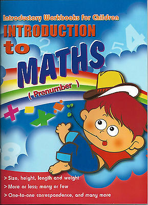 Introduction to Maths Prenumber Activity Practice Book Kids Read Write Learn