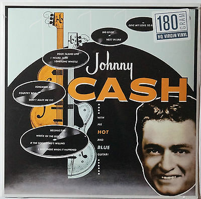 Johnny Cash - With his hot and blue guitar LP 180g vinyl NEU/SEALED