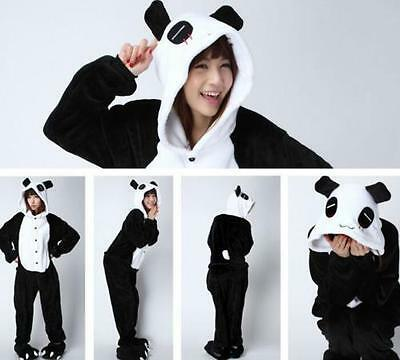 Hot Panda Unisex Adult Kigurumi Pajamas Anime Cosplay Costume Onesie Sleepwear