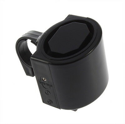 Electronic Bicycle Bike Cycling Alarm Loud Bell Horn Powered By 2x AAA Battery ~
