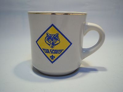 Vintage Cub Scouts Glass Coffee/Tea Cup