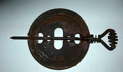 "Vintage Dieters Foundry Cherryville Pa 6"" Steel Spindle"