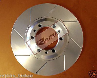 COMMODORE VT VX VU VY VZ CALAIS SS DISC BRAKE ROTORS SLOTTED FRONT PAIR 296 mm
