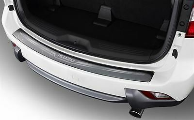 Genuine Isuzu MU-X Rear Step Bumper Guard Scratch Damage Protection Chrome