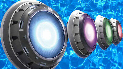 Spa Electrics Retro Series Pool Light - Variable Voltage - MULTI COLOUR LED