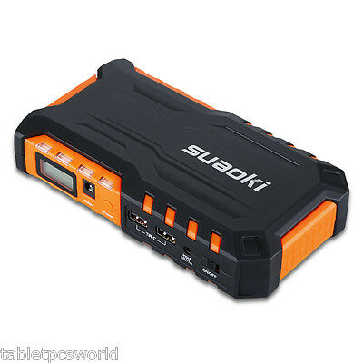 Portable 18000mAh Car Jump Starter Booster Charger Battery Power Bank Suaoki G7
