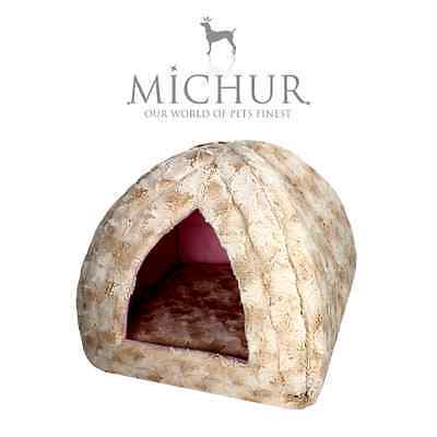 Michur Polly Beige, Panier, Lit, chiens, chats, panier, corbeille, coussin,