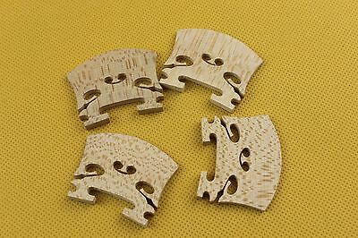 20pcs High quality Baroque style Violin Bridges maple wood 4/4, Violin Parts