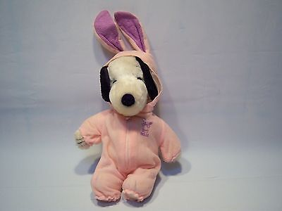 Vintage 70's Snoopy Belle Plush Stuffed Animal Toy W/ Outfits