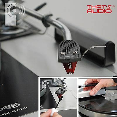 Record Anti-Static Carbon Fibre Brush & Stylus Brush - TURNTABLE CLEANING GIFT
