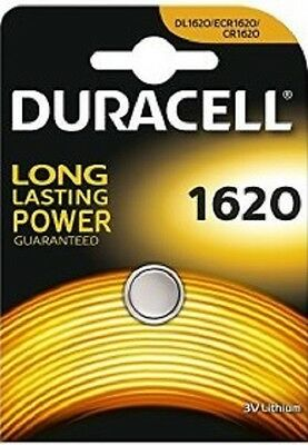 1 Pila Boton Duracell Bateria Cr1620 Dl1620 Erc1620 De Litio 3V Lithium Battery