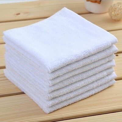 600 NEW WHITE HEAVY DUTY TERRY BAR MOPS RESTAURANT CLEANING TOWEL 32oz