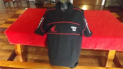 Honda Racing Offical Polo Great Cond  Size L