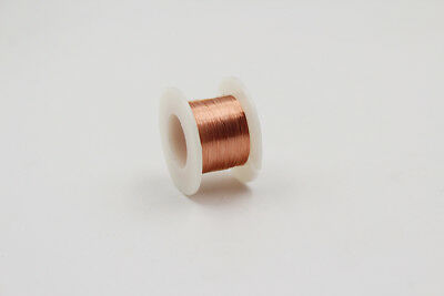 Enameled Copper Wire, 1640ft, 500m, 40AWG, 0.08mm, Magnet wire