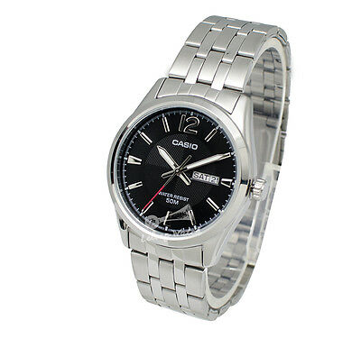 -Casio MTP1335D-1A Men's Metal Fashion Watch Brand New & 100% Authentic
