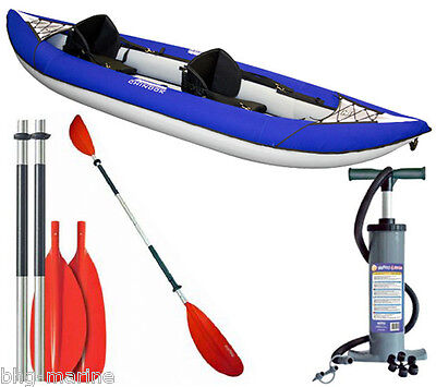 Aquaglide Chinook XP 2 2-Person Inflatable Kayak Bundle
