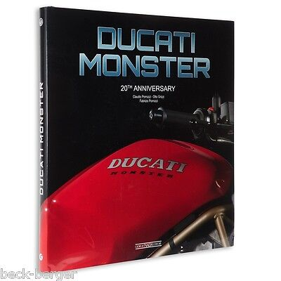 DUCATI Monster 20th Anniversary Buch Book Sonderband limitiert NEU !!