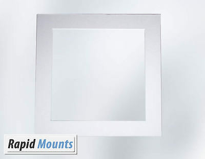 Custom Any Size Mount (large) for Pictures / Photo frames- White Core board.