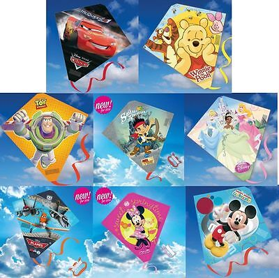 Disney Childrens Diamond  Kites Mickey Minnie Princess Cars And More