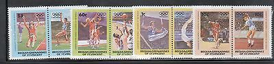 St Vincent Bequia 170-73 Summer Olympic Sports MInt NH