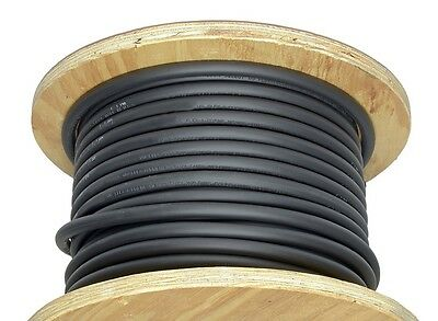 50' 2/0 Welding Cable Black Flexible Outdoor Wire