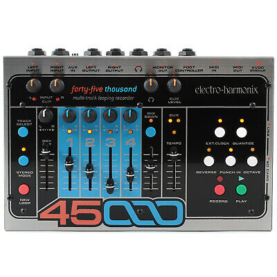 New Electro-Harmonix 45000 Stereo Multi-Track Looping Recorder with Power Supply