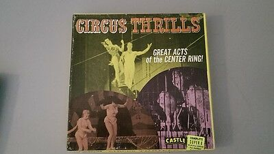 Circus Thrills Super 8mm 8 Home Movie Great Acts of the Center Ring 674 Film