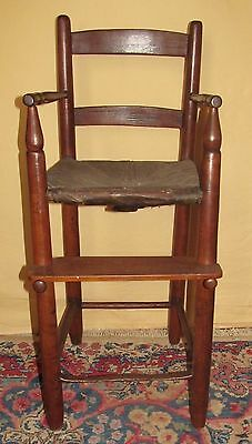Important 19Th Century Sodus Bay New York Antique Shaker Youth Chair