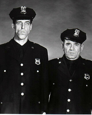 "Fred Gwynne Joe E. Ross In ""Car 54 Where Are You""  8X10 Publicity Photo (Bb-715)"
