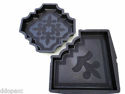 CONCRETE PAVING MOULD-SLAB-BRICK-FLAG   *ORIENT * - set of 2