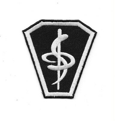 Babylon 5 Uniform Medical Emblem Smock Embroidered Patch NEW UNUSED