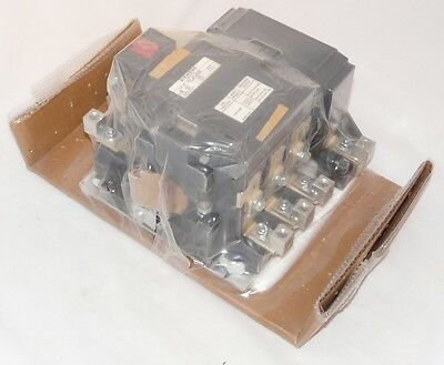 New Siemens CLA144E12 4 Pole 120V 100 amp Mechanically Held Lighting Contactor
