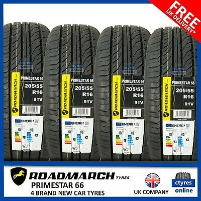 4 X New 205 55 16 91V AOTELI P607 2055516 205/55R16 *C/B RATED* (4 TYRES)