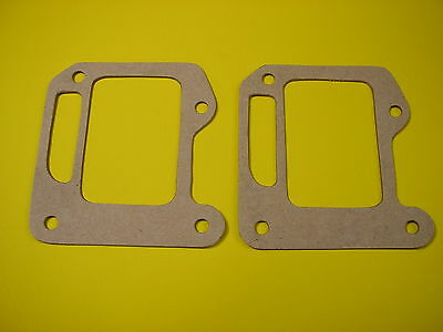 2 New Vintage Kart Intake Reed Gaskets Mini-Bike Chainsaw, McCulloch  #48605