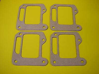 4 New Vintage Kart Intake Reed Gaskets Mini-Bike Chainsaw, McCulloch  #48605