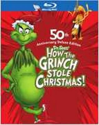 HOW THE GRINCH STOLE CHRISTMAS (1966) :50th Anniv  Blu Ray - Sealed Region free