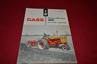 Case Tractor 800 Tractor Dealer's Brochure YABE6