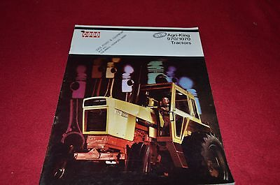 Case Tractor 970 1070 Tractor Dealer's Brochure YABE6