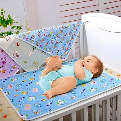 Baby Kids Waterproof Protector Diapering Changing Pads Bedding Mattress Sheet
