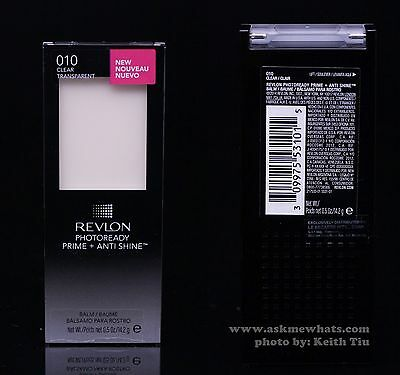 Revlon Photoready Primer Prime + Anti Shine Gomme Ride Et Ridule 10 Transparent