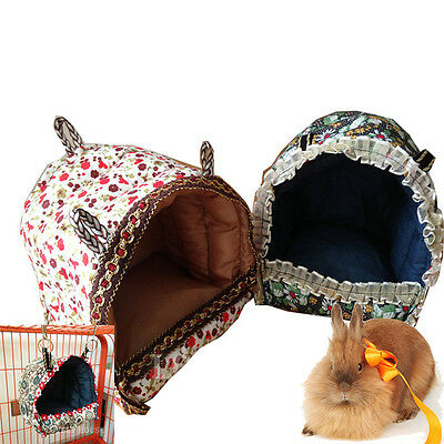 Hammock for Rat/Parrot/Rabbit/Guinea Pig/Ferret Hanging Bed Toy House Cage New