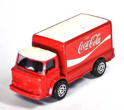 Coca-Cola Coke Auto USA Corgi Junjors Lieferwagen Laster Truck Made in GB 1978