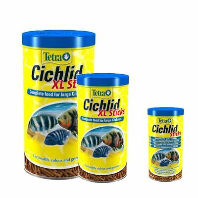 Tetra Cichlid Aquarium Sticks  Fish Food Feeding Tropical Nutrition Diet Fresh
