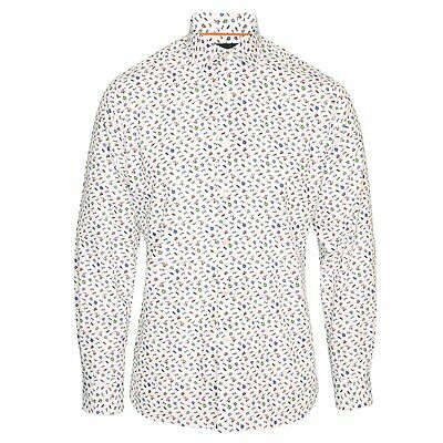 Duchamp of London Gentleman's Wardrobe Printed Shirt