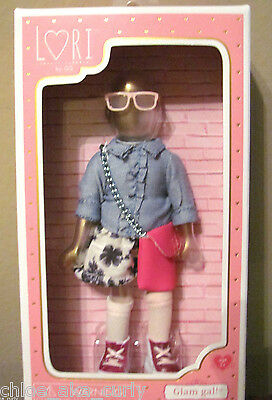 """Lori Doll 6"""" Outfit Glam Gal Jeans Shirt Purse Shoes by Our Generation NEW!"""