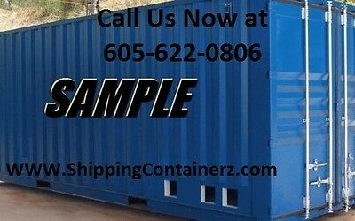 New One Trip 40ft Shipping Container Storage Container in Chicago, IL Illinois