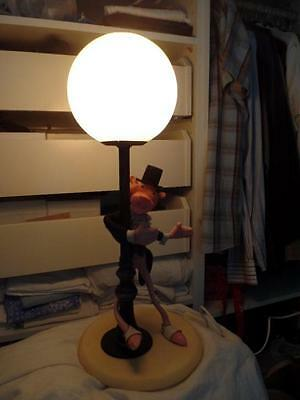 Extremely Rare! Pink Panther Giant Lamp Old Figurine Statue